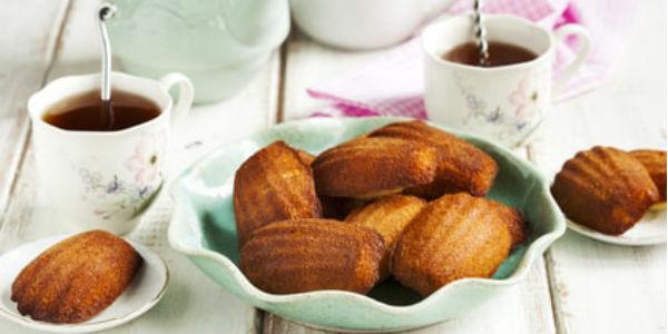 Recette thé earl grey et madeleines